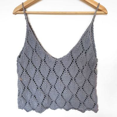 Leaf Top grey back
