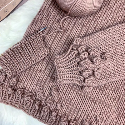 The Queen Sweater Progress