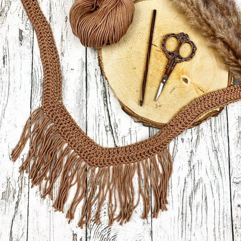 DIY Boho Halskette