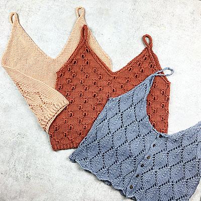 Summer Knit Pattern Bundle