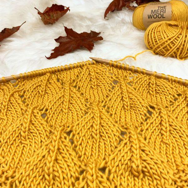 Golden October Shawl