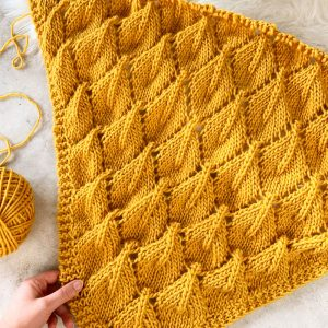 Golden October Shawl