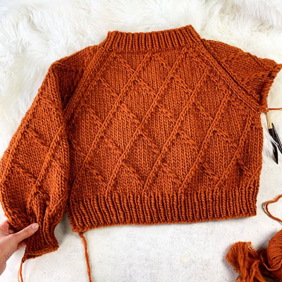 Harlequin Sweater Pattern