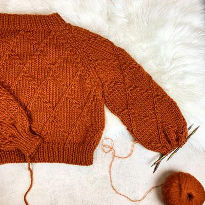 Harlequin Sweater Pattern